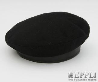 HERMÈS edle Cashmere-Baskenmütze, 58 cm.