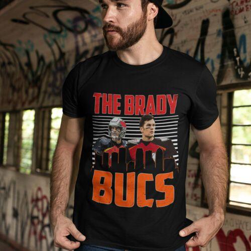 The Brady Bucs Brady Gronk Tampa Quarterback Bay Football Friends Jersey Fan Tee In 2020 Football Tees Tampa Bay Football Gronk
