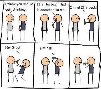 Addicted much? LOL