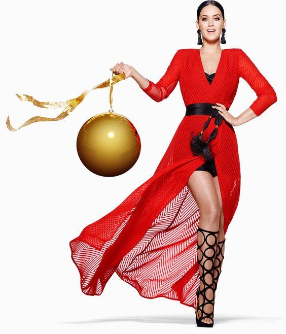 Feiern Sie ein modisches Fest mit Katy Perry und H&M. Tops, Pullover, Blusen und Kleider – schön als Geschenke, schön auf jeder Party.