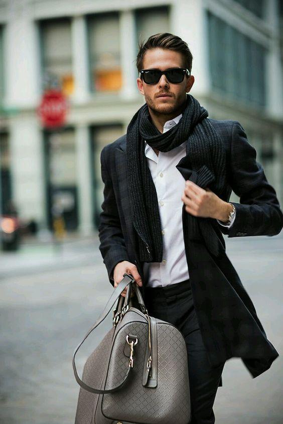 Auch unterwegs zu Meetings kann man gut aussehen!