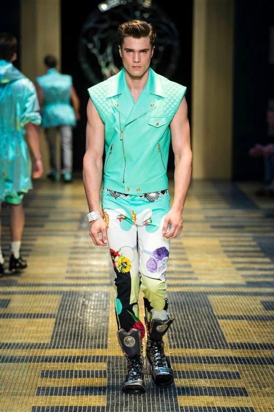 Versace Men's SS 2013 Fashion Show