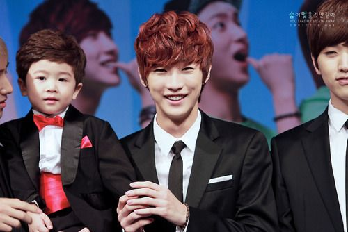[120724] Jinyoung @ Hello Baby Press Conference [34]    Credits : 19911118.net    Re-up : Aorishina @ FLYB1A4   #jinyoung  / Tumblr