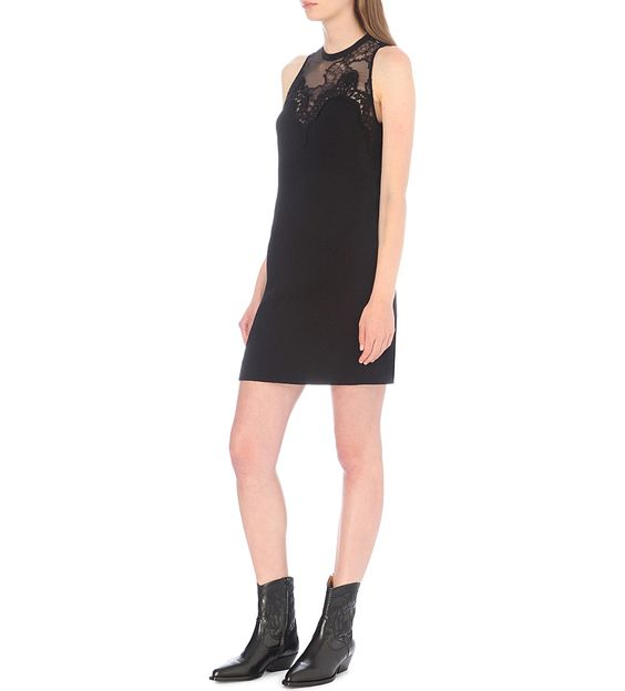 SANDRO Loverme crepe dress