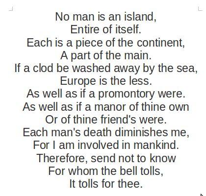 John donne poèmes