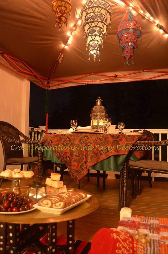 Ramadan decor.:
