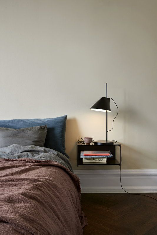Louis Poulsen YUH table lamp LED, black | Home bedroom, Home ...