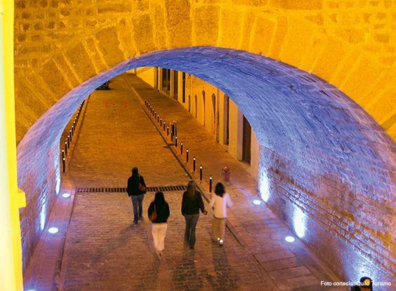 Arco de La Ronda, Centro histórico Quito