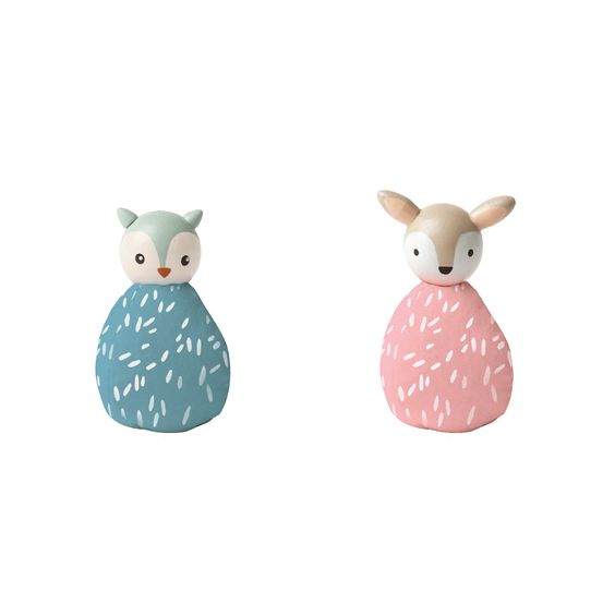 MIO Animal Set Owl + Deer| Manhattan Toy