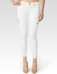 PAIGE Ivy Zipper Skinny