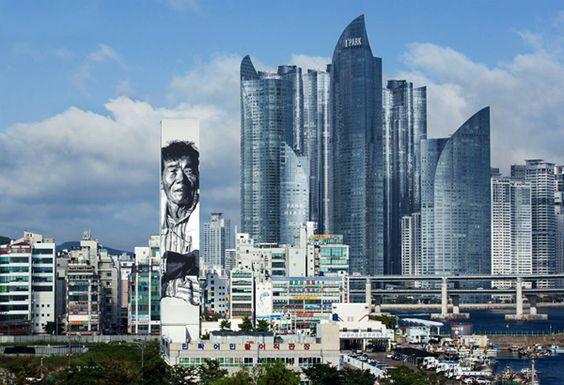 Hendrik Beikirch Paints Asia's Tallest Mural