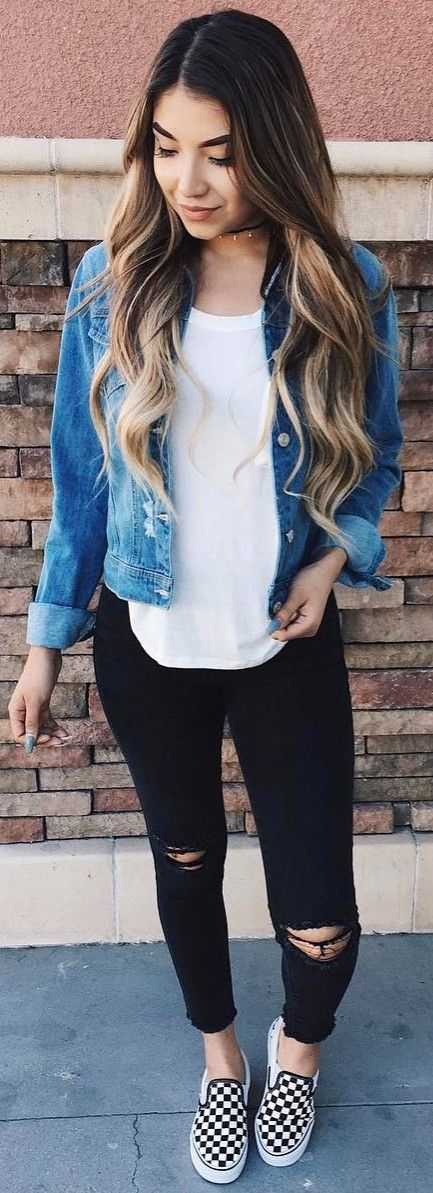 Trendy Jeans Outfit Summer