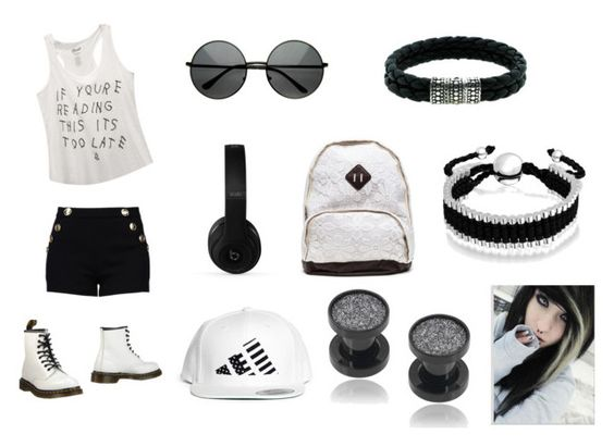 """Untitled #13"" by polyvoreisbae ❤ liked on Polyvore featuring мода, Wet Seal, Boutique Moschino, Dr. Martens, Beats by Dr. Dre, LPD NEW YORK, Misbehave, Bling Jewelry и John Hardy"