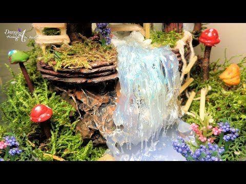 Como Hacer Una Fuente De Agua Con Materiales Reciclables Hogartv Por Juan Gonzalo Angel Youtube Jardinería De Hadas Cascadas Como Hacer Terrarios