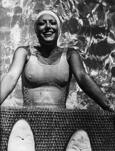 Joan Crawford - 1944 by Gene Lester