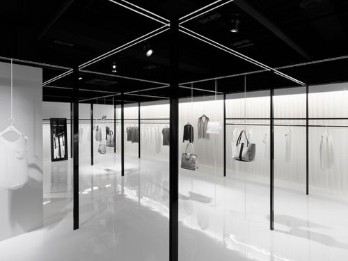 Beige by nendo woman clothing philosophy and style for Minimalist architecture theory