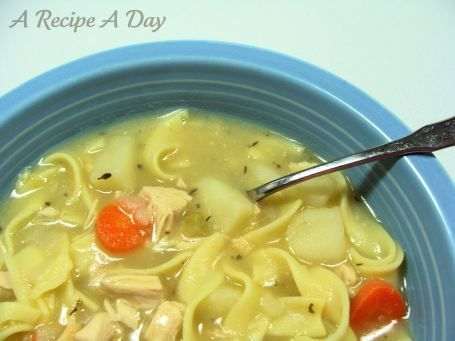 roasted-chicken-soup
