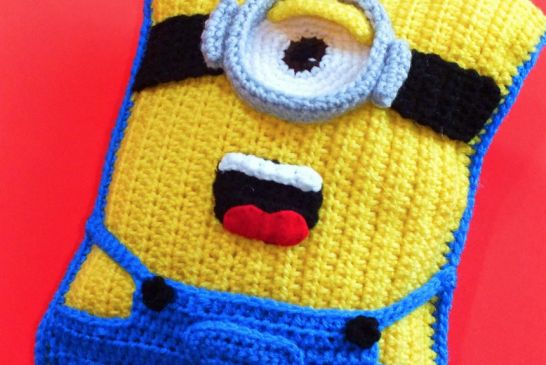 Minion Crochet Cushion Free Pattern 6