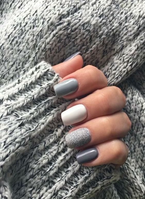 50 Trendy Winter Nail Colors To Warm Up Your Hands In 2020 Cute