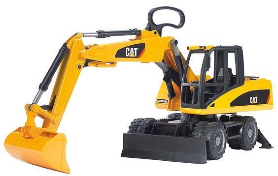 Bruder Caterpillar Small Wheeled Excavator