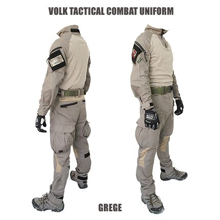 volk tactical gear | VOLK TACTICAL COMBAT UNIFORM / GREGE ※数量限定