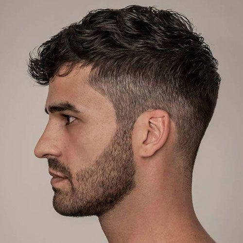 Short Wavy Hairstyles Men Popular Hairstyles For Men Best Men S Haircuts Cool Short Medium And Long Hair Styl Wavy Hair Men Curly Hair Men Short Wavy Hair