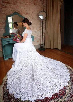 Ad for handmade lace Arte Rendas Renascença, Brazil (108 pieces)