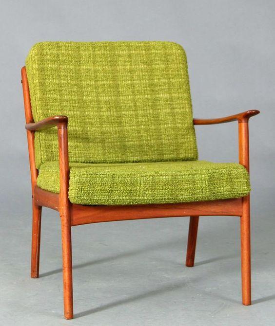 Deense vintage stoel - Ole Wanscher