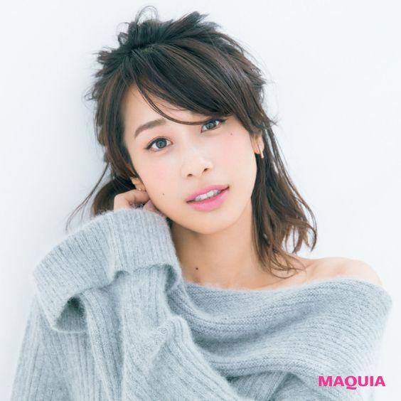 髪の毛がおしゃれな加藤綾子
