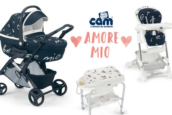 Cam Amore Mio – aus Liebe zum Kind von Camspa Italy, Kinderwagen, Hochstühle, Wickelauflagen