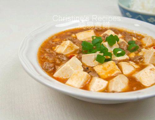 麻婆豆腐【四川醒胃菜】Mapo Tofu from 簡易食譜