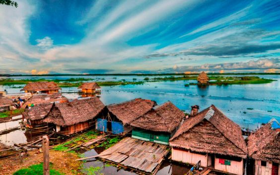 Iquitos is the dreamed destination for adventurous travelers