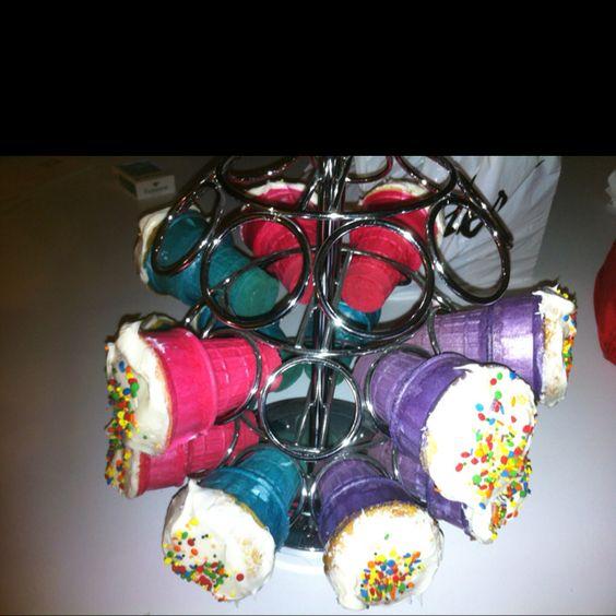 Cupcake cones fit perfect in kureg holder