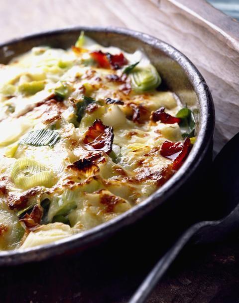 gratin de poireaux recipe cuisine gratin and legumes