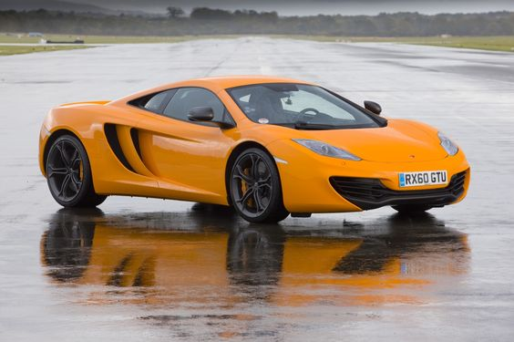 McLaren MP4-12C at the Top Gear Test Track Photos