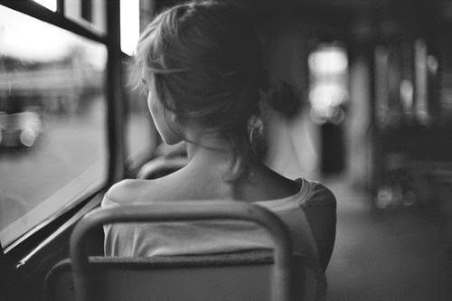 As vezes é tudo muito simples... Como uma garota em um trem