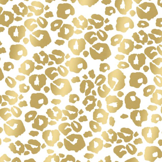 Free Hand-Drawn Leopard Print Desktop Download. Available in black