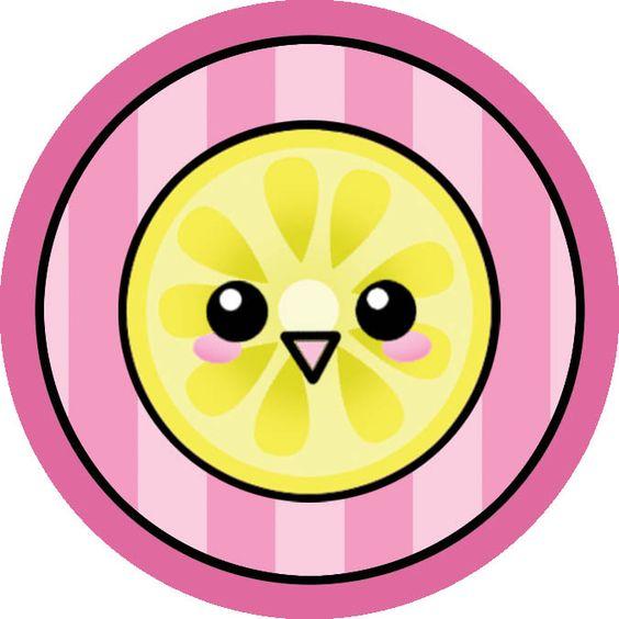Cute lemon button kawaii art pinterest lemon and for Lemon button