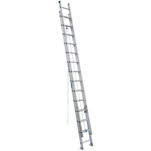 Werner D1328 2 250 Pound Duty Rating Aluminum Flat D Rung Extension Ladder 28 Foot Ladder Extensions Rugs On Carpet