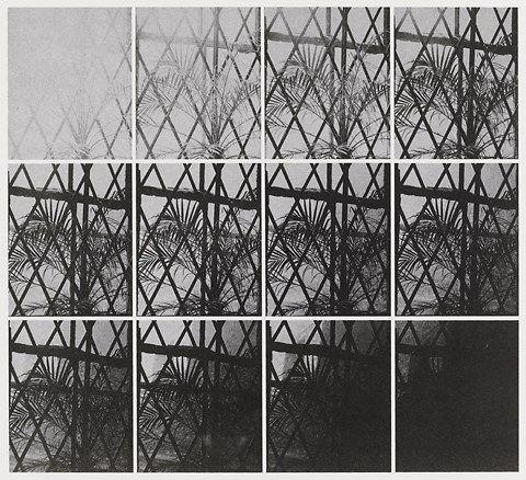 Jan Dibbets 12 Photographs with different shutter speeds - Stedelijk Museum Amsterdam