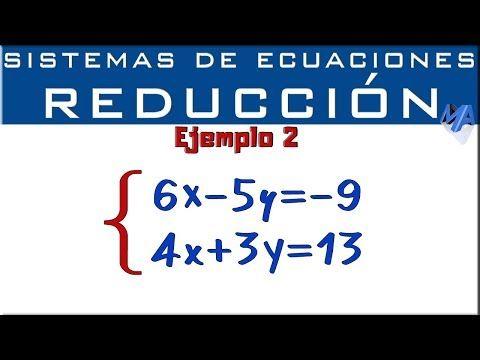 Sistemas De Ecuaciones 2x2 Youtube En 2021 Sistemas De Ecuaciones Ecuaciones Lecciones De Matemáticas