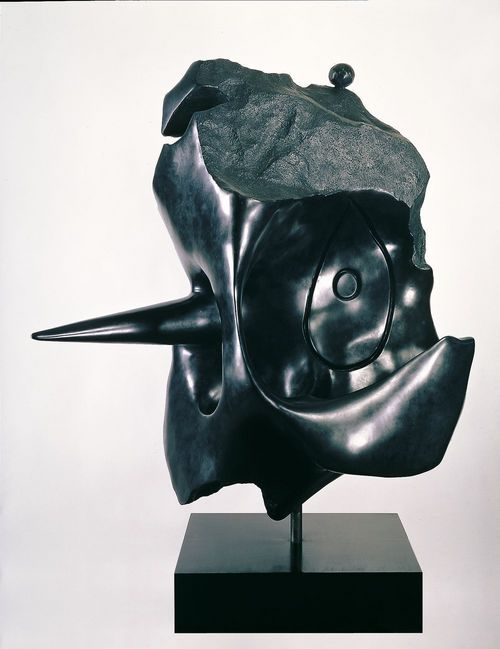 Tête (head) 1974 bronze
