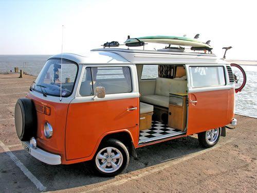 South West Camper Hire, Exeter, Devon VW Campervan hire, Classic Car Hire World