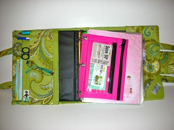 Nice coupon binder/bag