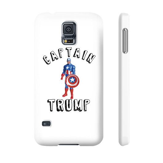 Captain Donald Trump Funny Election Phone Cases