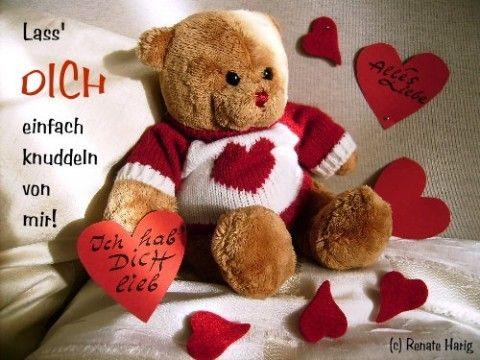 Herzen Teddy Barchen Liebe Grusse Bilder Liebe Grusse Spruche Zum Aufmuntern