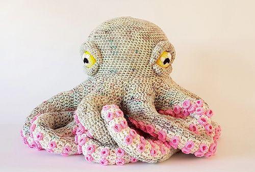 Amigurumi Octopus Baby Toy Free Pattern - Haken, Breien en haken ... | 338x500