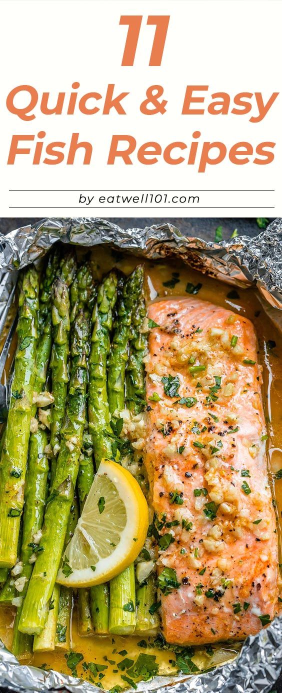 11 Quick and Easy Fish Recipes for Healthy Dinners