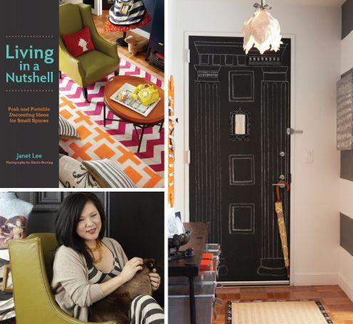 living in a nutshell - chalkboard door: Nutshell Chalkboard, Painting, Chalkboard Doors