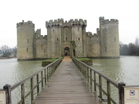 L'ingresso del Castello di #Bodiam a #Dover - di GianlucaDeLeo